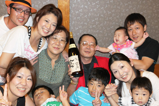 日ごろの感謝の気持ちを伝えることができてよかった 滋賀県 G.Tさん