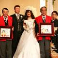 結婚式で還暦祝い!