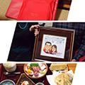 クリックでプレゼントを渡したお写真が拡大します