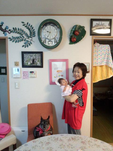 今年は母の還暦と初孫の誕生でとてもいい記念になりました(^o^)